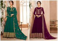 Indian Designer Gown Anarkali Salwar Kameez Style Designer Salwar Suit Dress FM