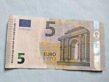 Billet ( Banknote) de 5 euro 2013 -  Belgique  Lettre Zd  M . Draghi
