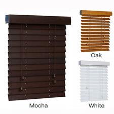 Timber Venetian Blinds 50mm Basswood Window Blinds Wood Blind AU STOCK