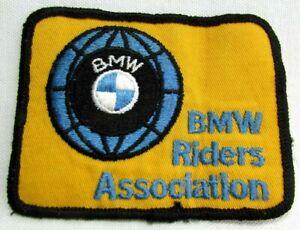 Vintage BMW Motorcycle Riders Association Jacket Patch British Motor Works