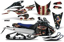 AMR Racing Sled Wrap Yamaha FX Nytro Snowmobile Graphics Kit 08-14 WORLD WAR 2