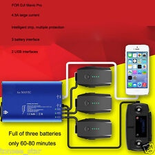5in1 Smart Rapid Balance Batteries Charger RC USB For DJI Mavic Pro Helicopter
