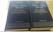 Orlando Innamorato (2 vol.) di Maria Matteo Boiardo