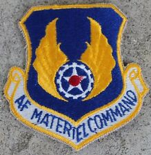 New Dealer Lot of Twenty USAF Materiel Command Patches, Sew-On, Full Color