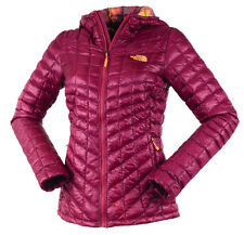 The North Face ThermoBall Insulated Fuschia Winter Women's Jacket L - Large