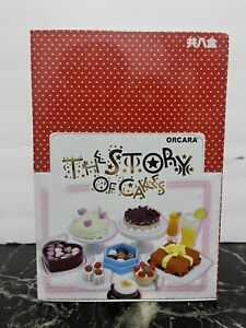 Orcara 1:12 Scale Story of Cake Dollhouse Miniature Doll Accessories Toy Set