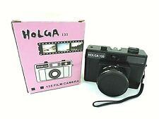 New ListingHolga 135 35mm Point & Shoot Film Camera w/Box Black New Ships Next Day