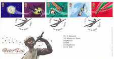 20 AUUST 2002 PETER PAN ROYAL MAIL FIRST DAY COVER HOOK SHS