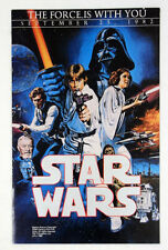 Vintage Star Wars A New Hope 1982 TV Premier Order Form Unused Excellent Cond.!