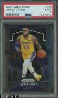 2019 Panini Prizm #129 LeBron James Los Angeles Lakers PSA 9 MINT