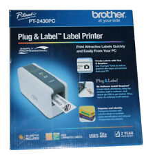Brand New Brother PC-Connectable Label Maker with Auto Cutter - PT-2430PC