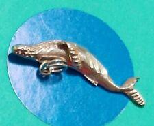 Charm K26 Whale Sterling Silver Vintage Bfracelet