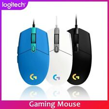 Logitech G102 LIGHTSYNC RGB upgrade Gaming Mouse Optical 8000DPI 16.8M Color LED