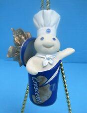 New Listing2002 Danbury Mint Pillsbury Doughboy Bursting With Joy Christmas Ornament Fship!