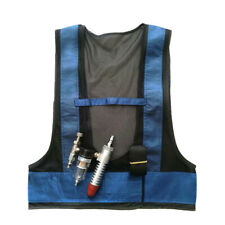1x Conditioner Waistcoat Compressed Air Cooling Vest Vortex Tubes Welding Suits