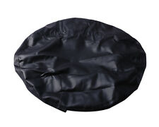 universal Spare Wheel Tire Tyre Soft Cover 33 Inch pure black