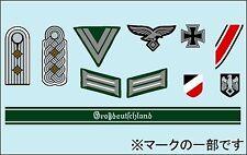 Tamiya 1/16 1/35 WWII German Insignia Decal Set # 12625