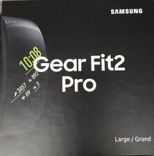 Samsung - Gear Fit2 Pro - Fitness Smartwatch  Large/Black New sm-r365