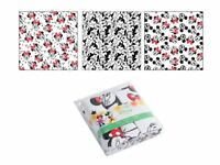 Disney Minnie Mouse Set of 3 Nappy Cotton Fabric Flannel Baby Diaper Muslin