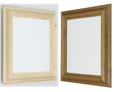 Natural  Antique pine wooden photo picture frames solid wood available all sizes