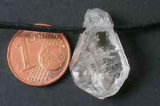 bergkristall-doppelender-anhänger (Herkimer Art) -china i-0669/I