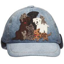 DOLCE AND GABBANA BOYS BLUE DENIM DG FAMILY CAP HAT 2-4 YEARS