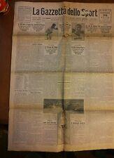 LA GAZZETTA DELLO SPORT - 26 Aprile 1928 - Ciclismo - Boxe - Targa Florio