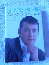Rags to Richie The Story So Far Shane Richie Hardback Book RRP:  £17.99
