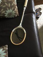 Vintage slazenger powerthrust wooden Racket