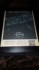Bar-Kays Too Hot To Stop Rare Original Promo Poster Ad Framed!