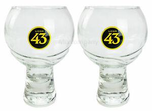 Licor 43 Cuarenta y Tre Glas Gläser-Set - 2x Gläser bar cocktail glas Likör Liq