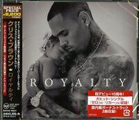 CHRIS BROWN-ROYALTY-JAPAN CD BONUS TRACK E78