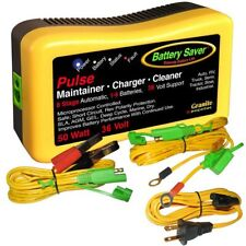 Battery Saver Battery Charger, Maintainer & Cleaner - (36 Volt) 50 Watt 2365-36
