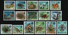 Seychellen 1977 - Mi-Nr. 394-409 I ** - MNH - Fauna & Flora (I)