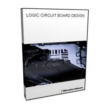 Scheda di circuiti logici simulazione di design PCB educativo Strumento CAD Software