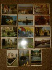 Peterhof Petrodvorets Russian Versailles Non Postal Picture Cards USSR