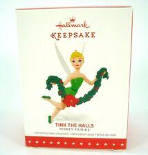 Hallmark keepsake ornament - Disney Fairies - Tink the Halls Tinkerbell 2015
