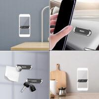 New Mini Strip Shape Magnetic Car Phone Holder Stand For iPhone Samsung LG Black