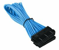 BattleBorn 24 Pin ATX Cable Cord Extension Premium Braided Adapter Teal
