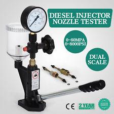 Diesel Einspritzdüsen Prüfgerät Tester Test-Tool W/Shockproof Manometer 60Mpa