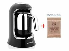 Korkmaz KAHVEKOLIK Türkischer Kaffee-Maschine Schwarz-Chrom A860-07 Mokkamaschin
