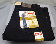 "Wrangler Jeans, 34""W X 29""L, Black Color,  relaxed fit, premium denim, $28.99"