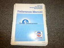 Allison WT Series Pro Link 9000 Reprogramming Cartridge Training Service Manual