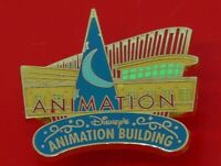 Used Disney Enamel Pin Badge Disney's Animation Building