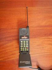 Lot of 2 Vintage Collectible Motorola Digital Personal Communicator Flip Phones
