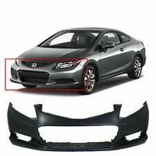 Primed Front Bumper Cover For 2012 2013 Honda Civic Coupe 2 Door 12 13 Fits 2013 Honda Civic Si