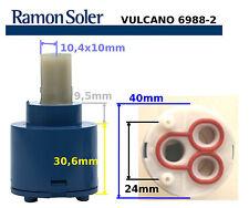 CARTUCHO DE RAMON SOLER 6988-2 VULCANO 40000-2 RECAMBIO PARA GRIFOS RS MONOMANDO
