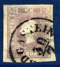 AUSTRIA 1859 1.05 Kr lilac newspaper stamp fine used