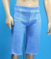 Barbie Male Fashions Light Blue Knit Sport Shorts Fashionistas Basic Model Ken