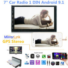 "7"" Car Radio 1DIN Android 9.1 GPS Stereo Navi MP5 Player WiFi Quad Core 1024*600"